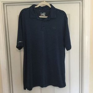 Under Armour XL Golf Polo Shirt Loose Heat Gear
